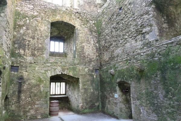 Castillo Blarney Irlanda interior