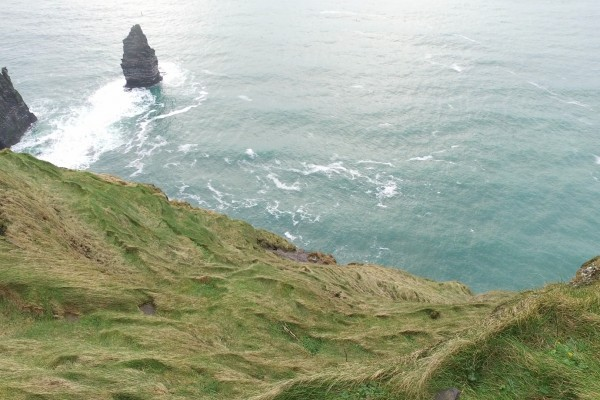 acantilados moher orilla irlanda