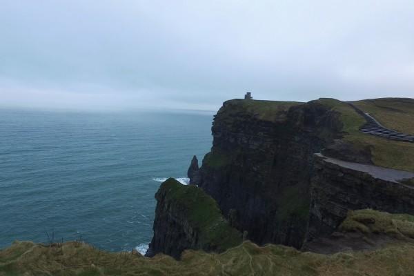 acantilados moher paisaje irlanda
