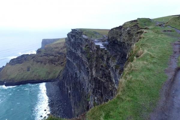 acantilados moher vista irlanda