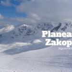 Planeando Zakopane: 27-28 Marzo, 2016