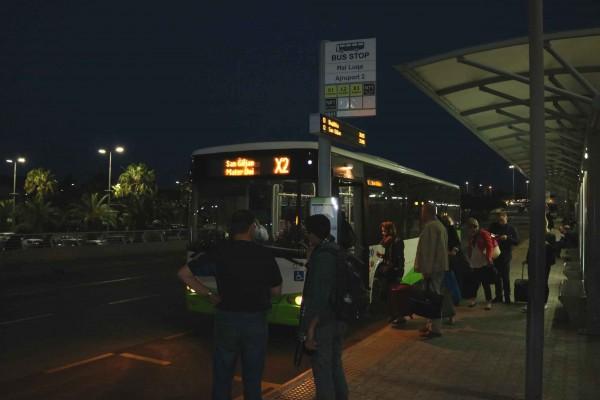 transporte publico malta aeropuerto