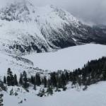 Zakopane: caminando al lago Morskie Oko congelado