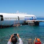 Turquía hunde avión A300 en las costas del mar Egeo.