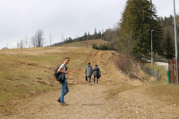 caminando a gubalowka zakopane polonia
