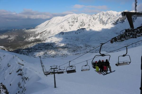 esquiar zakopane polonia