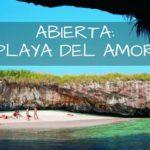 Re-abre con restricciones la Playa del Amor en las Islas Marietas!