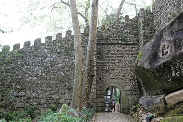 entrada castillo de los moros sintra portugal