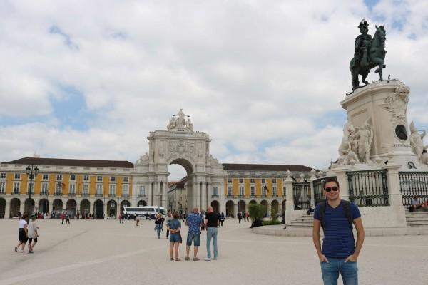 plaza de comercio lisboa portugal