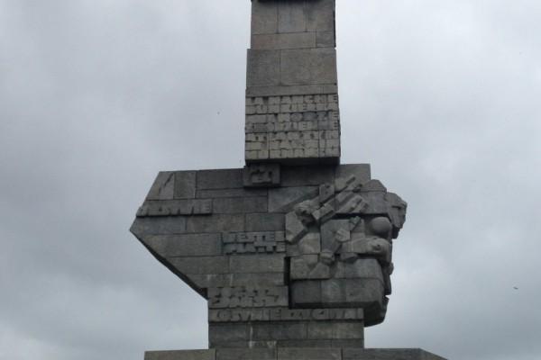 memorial a los caidos westerplatte  gdansk polonia