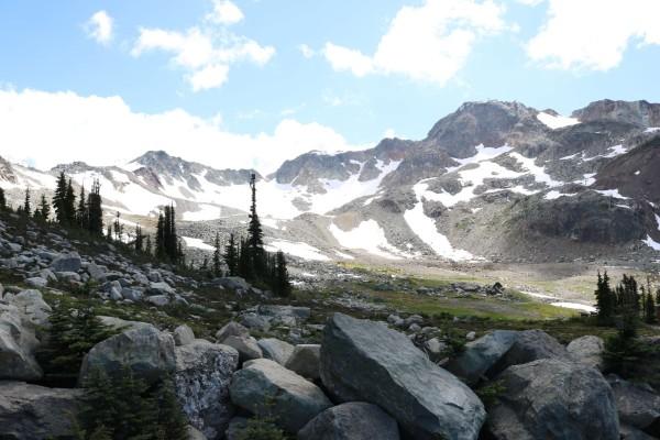verano en la montaña whistler canada