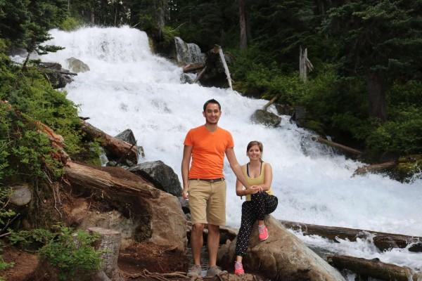 cascada en lagos joffre