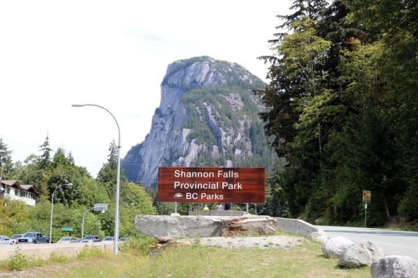 como ir al parque provincial cascadas de shannon shannon fall provincial park squamish canada