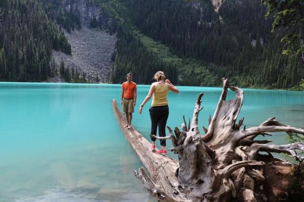 como visitar los lagos joffre