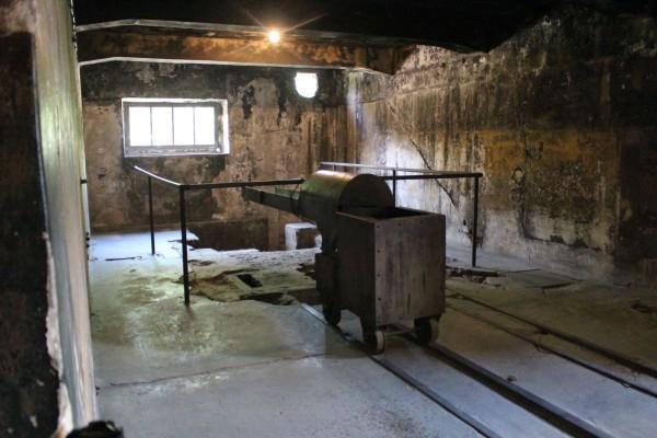 crematorio campo de concentracion polonia auschwitz
