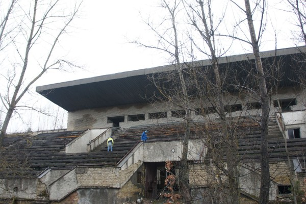 estadio abandonado ucrania accidente nuclear chernobil