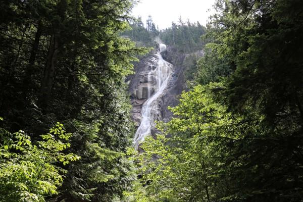 shannon falls cascadas de shannon squamish canada