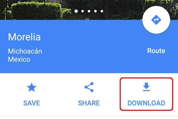 android google mapas sin datos