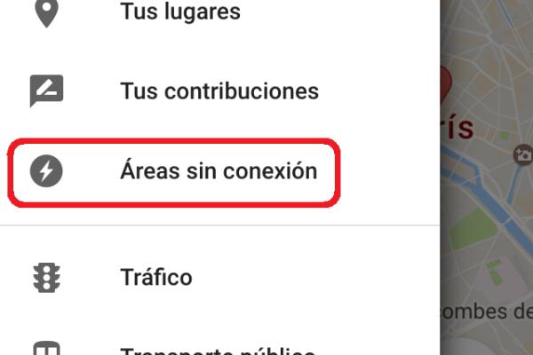 mapas de google sin datos
