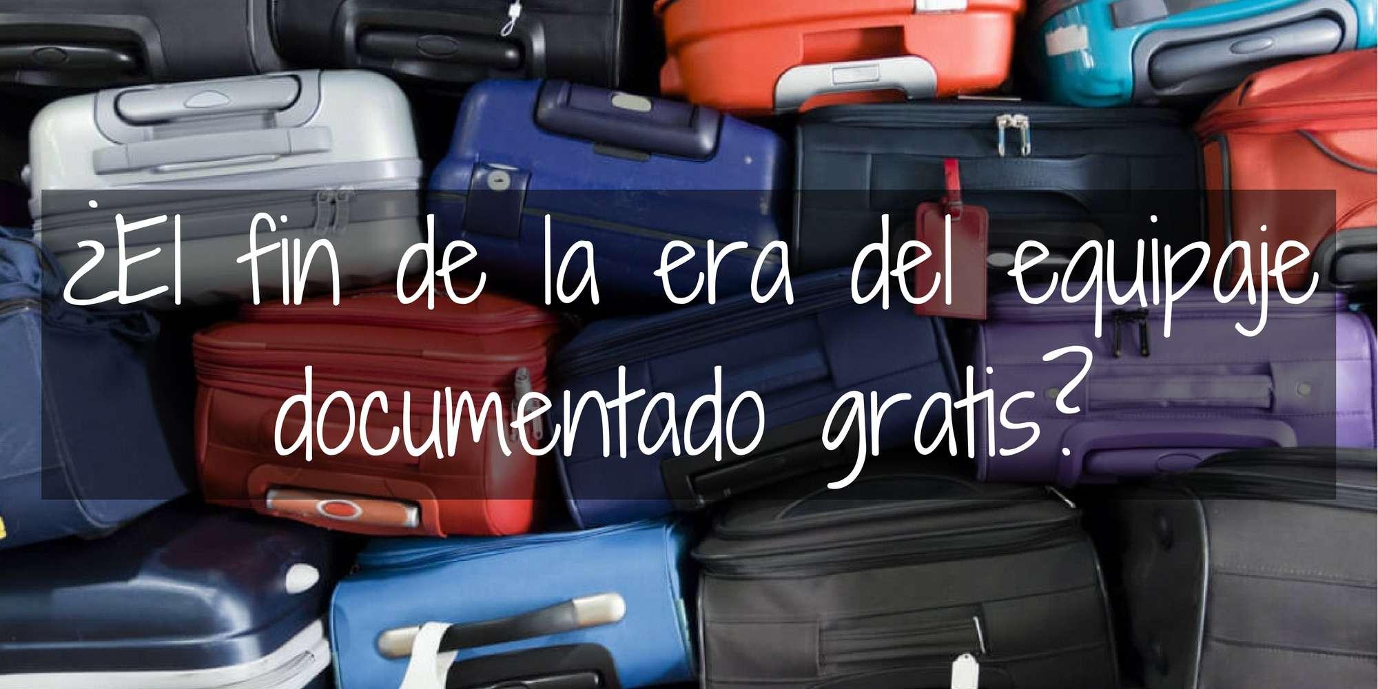 Adiós al equipaje documentado gratis! Empiezan Volaris y Aeroméxico!