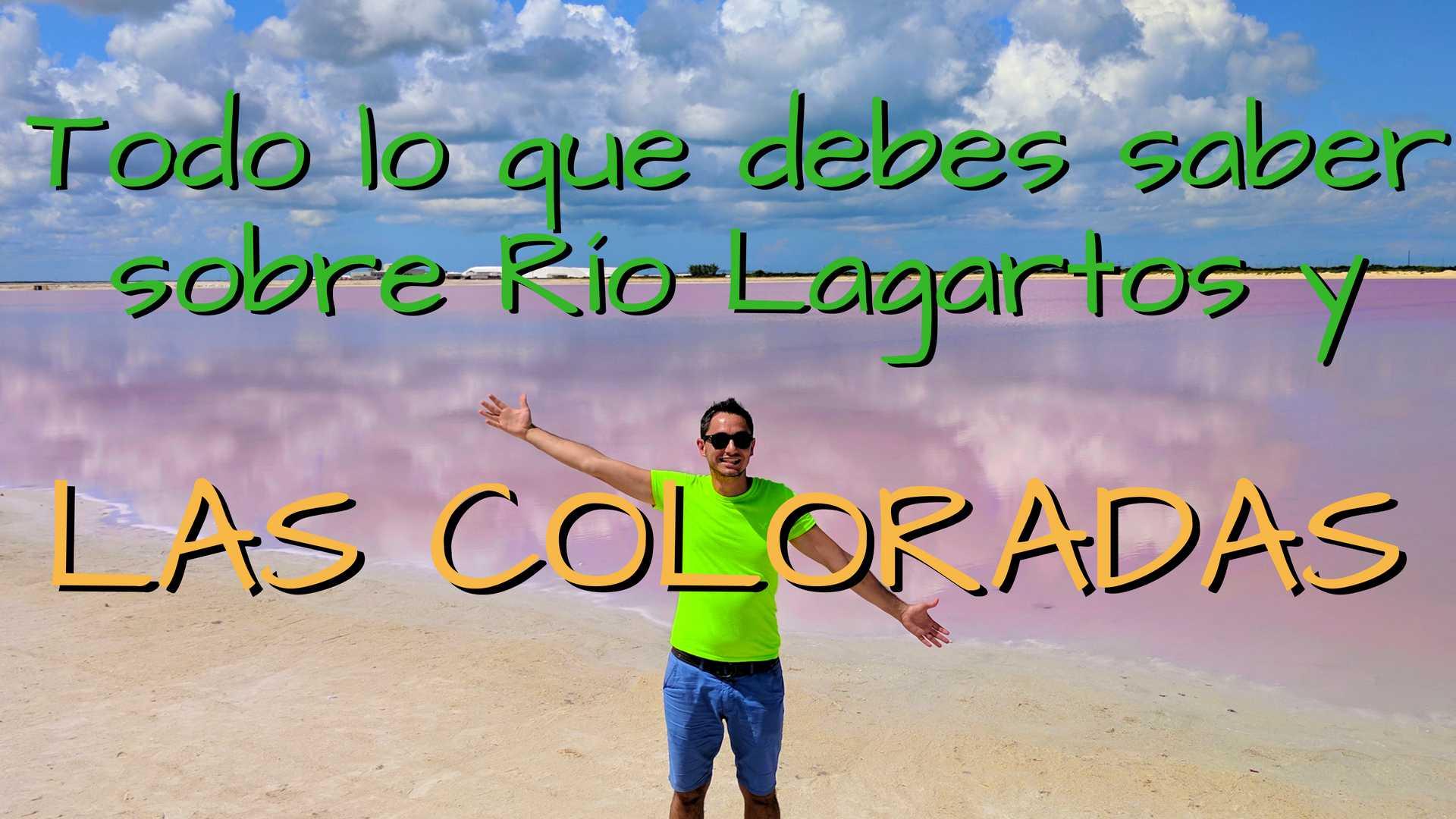 Todo lo que debes saber sobre Las Coloradas, Río Lagartos y sus flamingos!!