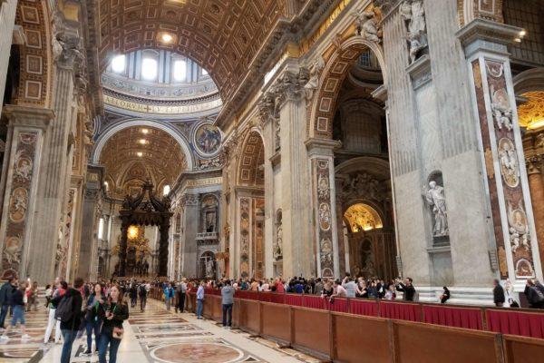 que hacer en roma basilica de san pedro italia