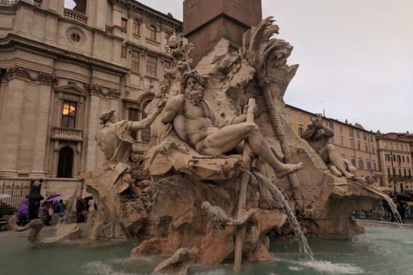 que hacer en roma plaza navona italia
