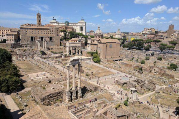 roma en 1 dia foro romano italia