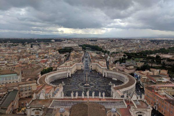 roma en 1 dia plaza de san pedro italia
