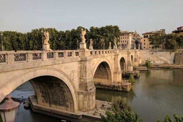 roma en 1 dia rio castillo del angel italia