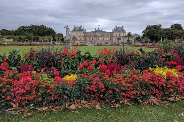 donde estan los jardines de luxemburgo en paris francia