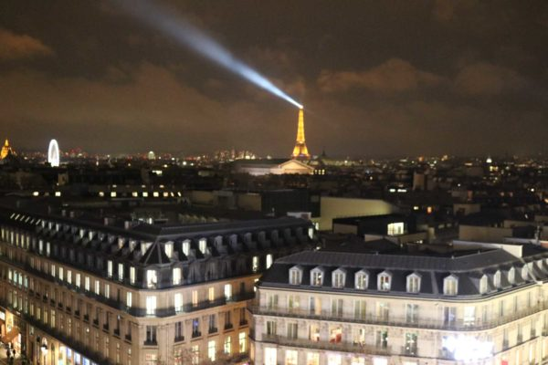 galerias lafayette entrar gratis torre eiffle terraza paris francia