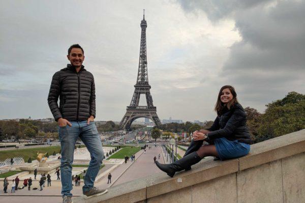 mejor lugar para foto torre eiffel paris francia