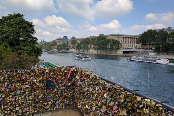 nuevo puente de los candados entrar gratis paris francia