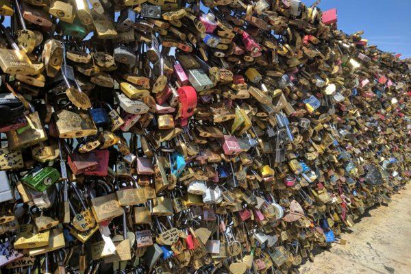 puente de los candados cuanto cuesta entrar paris francia